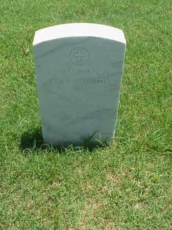 STRANDLUND (VETERAN WWI), CHRISTIAN N - Pulaski County, Arkansas | CHRISTIAN N STRANDLUND (VETERAN WWI) - Arkansas Gravestone Photos