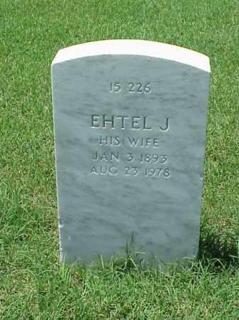 STRATTON, EHTEL J - Pulaski County, Arkansas | EHTEL J STRATTON - Arkansas Gravestone Photos