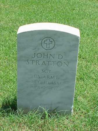 STRATTON (VETERAN), JOHN D - Pulaski County, Arkansas | JOHN D STRATTON (VETERAN) - Arkansas Gravestone Photos