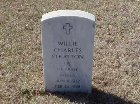 STRATTON (VETERAN KOR), WILLIE CHARLES - Pulaski County, Arkansas | WILLIE CHARLES STRATTON (VETERAN KOR) - Arkansas Gravestone Photos
