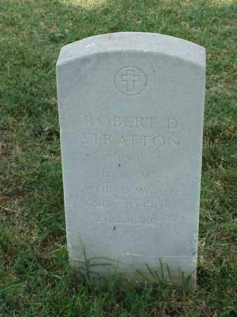 STRATTON (VETERAN WWII), ROBERT D - Pulaski County, Arkansas | ROBERT D STRATTON (VETERAN WWII) - Arkansas Gravestone Photos