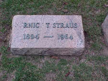 STRAUS, RNIC T - Pulaski County, Arkansas | RNIC T STRAUS - Arkansas Gravestone Photos