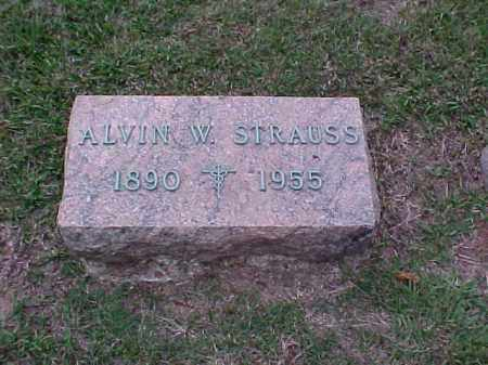 STRAUSS, ALVIN W - Pulaski County, Arkansas | ALVIN W STRAUSS - Arkansas Gravestone Photos