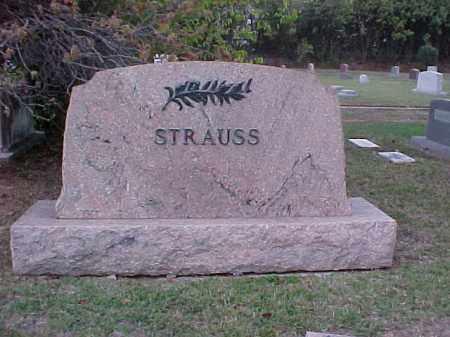 STRAUSS FAMILY STONE,  - Pulaski County, Arkansas |  STRAUSS FAMILY STONE - Arkansas Gravestone Photos