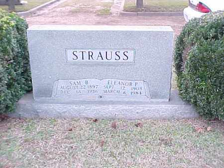 STRAUSS, SAM B - Pulaski County, Arkansas | SAM B STRAUSS - Arkansas Gravestone Photos