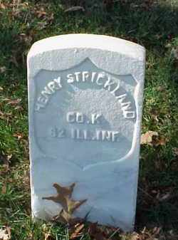 STRICKLAND (VETERAN UNION), HENRY - Pulaski County, Arkansas | HENRY STRICKLAND (VETERAN UNION) - Arkansas Gravestone Photos