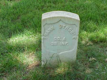 STROBLE (VETERAN UNION), FRANK - Pulaski County, Arkansas | FRANK STROBLE (VETERAN UNION) - Arkansas Gravestone Photos