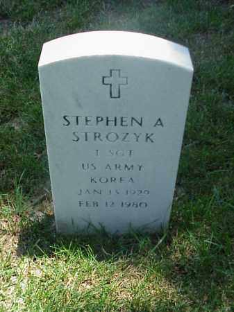 STROZYK (VETERAN KOR), STEPHEN A - Pulaski County, Arkansas | STEPHEN A STROZYK (VETERAN KOR) - Arkansas Gravestone Photos