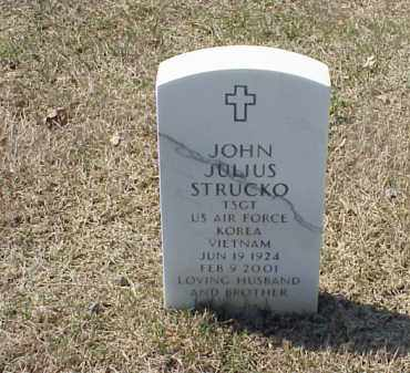 STRUCKO (VETERAN 2 WARS), JOHN JULIUS - Pulaski County, Arkansas | JOHN JULIUS STRUCKO (VETERAN 2 WARS) - Arkansas Gravestone Photos