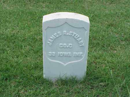 STUART (VETERAN UNION), JAMES R - Pulaski County, Arkansas | JAMES R STUART (VETERAN UNION) - Arkansas Gravestone Photos