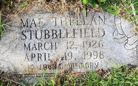 STUBBLEFIELD, MAE THELLAN - Pulaski County, Arkansas | MAE THELLAN STUBBLEFIELD - Arkansas Gravestone Photos