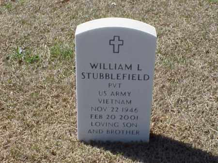 STUBBLEFIELD (VETERAN VIET), WILLIAM L - Pulaski County, Arkansas | WILLIAM L STUBBLEFIELD (VETERAN VIET) - Arkansas Gravestone Photos
