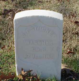 STUCKER (VETERAN UNION), J F - Pulaski County, Arkansas | J F STUCKER (VETERAN UNION) - Arkansas Gravestone Photos
