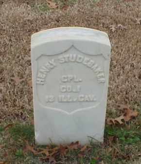 STUDEBAKER (VETERAN UNION), HENRY - Pulaski County, Arkansas | HENRY STUDEBAKER (VETERAN UNION) - Arkansas Gravestone Photos