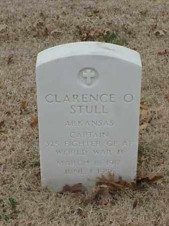 STULL (VETERAN 2 WARS), CLARENCE O - Pulaski County, Arkansas | CLARENCE O STULL (VETERAN 2 WARS) - Arkansas Gravestone Photos