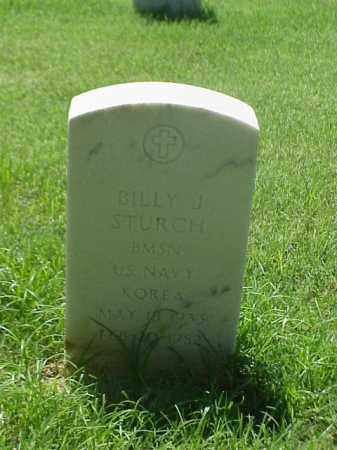STURCH (VETERAN KOR), BILLY J - Pulaski County, Arkansas | BILLY J STURCH (VETERAN KOR) - Arkansas Gravestone Photos