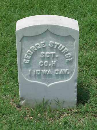 STURGE (VETERAN UNION), GEORGE - Pulaski County, Arkansas | GEORGE STURGE (VETERAN UNION) - Arkansas Gravestone Photos