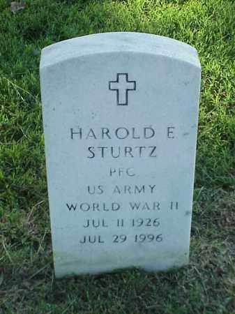 STURTZ (VETERAN WWII), HAROLD E - Pulaski County, Arkansas | HAROLD E STURTZ (VETERAN WWII) - Arkansas Gravestone Photos
