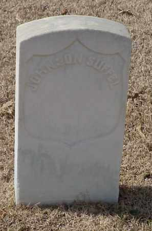 SUFFEL (VETERAN UNION), JOHNSON - Pulaski County, Arkansas | JOHNSON SUFFEL (VETERAN UNION) - Arkansas Gravestone Photos