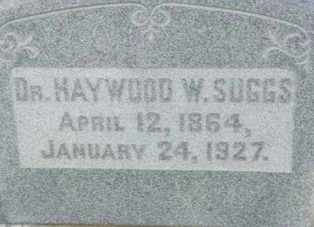 SUGGS,  DR., HAYWOOD  W. - Pulaski County, Arkansas | HAYWOOD  W. SUGGS,  DR. - Arkansas Gravestone Photos
