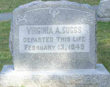 SUGGS, VIRGINIA  A. - Pulaski County, Arkansas | VIRGINIA  A. SUGGS - Arkansas Gravestone Photos