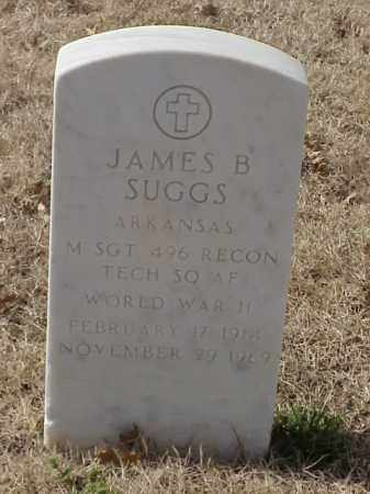 SUGGS (VETERAN WWII), JAMES B - Pulaski County, Arkansas | JAMES B SUGGS (VETERAN WWII) - Arkansas Gravestone Photos