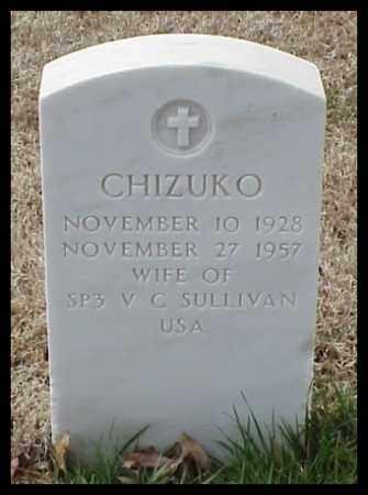 SULLIVAN, CHIZUKO - Pulaski County, Arkansas | CHIZUKO SULLIVAN - Arkansas Gravestone Photos