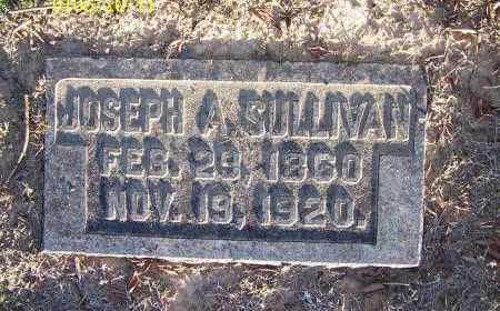 SULLIVAN, JOSEPH A. - Pulaski County, Arkansas | JOSEPH A. SULLIVAN - Arkansas Gravestone Photos