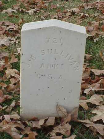SULLIVAN (VETERAN CSA), J B - Pulaski County, Arkansas | J B SULLIVAN (VETERAN CSA) - Arkansas Gravestone Photos