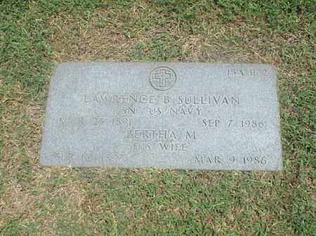 SULLIVAN (VETERAN WWI), LAWRENCE B - Pulaski County, Arkansas | LAWRENCE B SULLIVAN (VETERAN WWI) - Arkansas Gravestone Photos