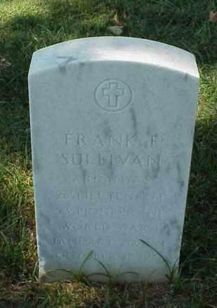SULLIVAN (VETERAN WWI), FRANK F - Pulaski County, Arkansas | FRANK F SULLIVAN (VETERAN WWI) - Arkansas Gravestone Photos