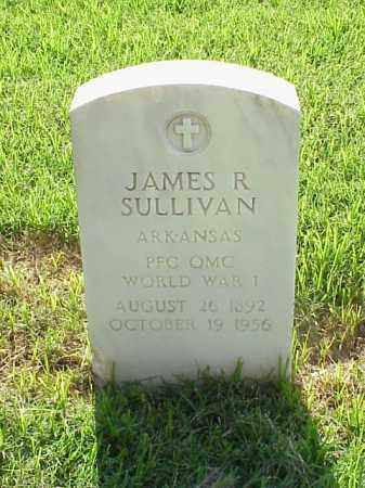 SULLIVAN (VETERAN WWI), JAMES R - Pulaski County, Arkansas | JAMES R SULLIVAN (VETERAN WWI) - Arkansas Gravestone Photos