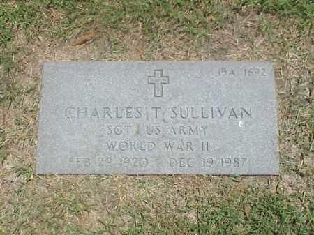 SULLIVAN (VETERAN WWII), CHARLES T - Pulaski County, Arkansas | CHARLES T SULLIVAN (VETERAN WWII) - Arkansas Gravestone Photos