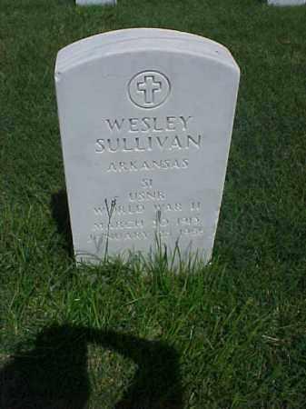 SULLIVAN (VETERAN WWII), WESLEY - Pulaski County, Arkansas | WESLEY SULLIVAN (VETERAN WWII) - Arkansas Gravestone Photos