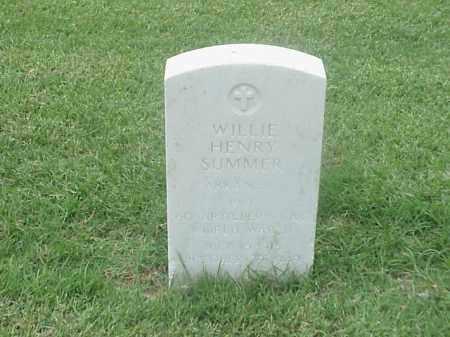 SUMMER (VETERAN WWII), WILLIE HENRY - Pulaski County, Arkansas | WILLIE HENRY SUMMER (VETERAN WWII) - Arkansas Gravestone Photos