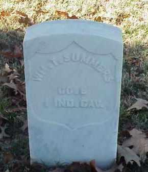 SUMMERS (VETERAN UNION), WILLIAM T - Pulaski County, Arkansas | WILLIAM T SUMMERS (VETERAN UNION) - Arkansas Gravestone Photos