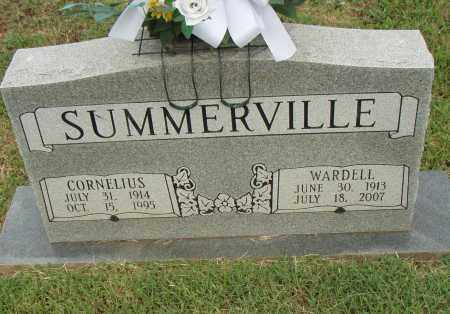 SUMMERVILLE, CORNELIUS - Pulaski County, Arkansas | CORNELIUS SUMMERVILLE - Arkansas Gravestone Photos