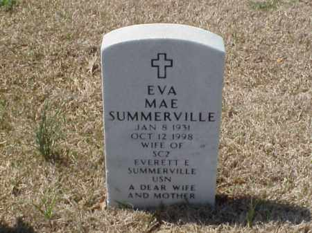 SUMMERVILLE, EVA MAE - Pulaski County, Arkansas | EVA MAE SUMMERVILLE - Arkansas Gravestone Photos