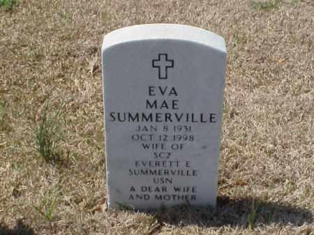 SUMMERVILLE, EVA MAE - Pulaski County, Arkansas | EVA MAE SUMMERVILLE - Arkansas Gravestone Photos