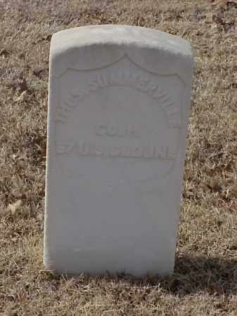 SUMMERVILLE (VETERAN UNION), THOMAS - Pulaski County, Arkansas | THOMAS SUMMERVILLE (VETERAN UNION) - Arkansas Gravestone Photos