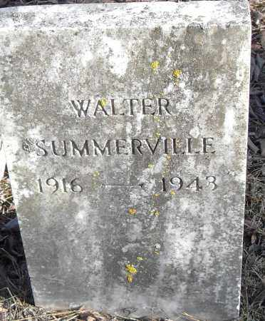 SUMMERVILLE, WALTER - Pulaski County, Arkansas | WALTER SUMMERVILLE - Arkansas Gravestone Photos
