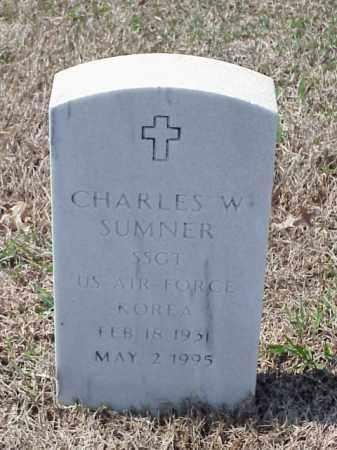 SUMNER (VETERAN KOR), CHARLES W - Pulaski County, Arkansas | CHARLES W SUMNER (VETERAN KOR) - Arkansas Gravestone Photos