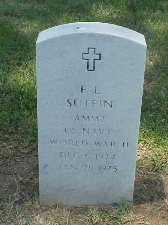 SUTFIN (VETERAN WWII), F L - Pulaski County, Arkansas | F L SUTFIN (VETERAN WWII) - Arkansas Gravestone Photos