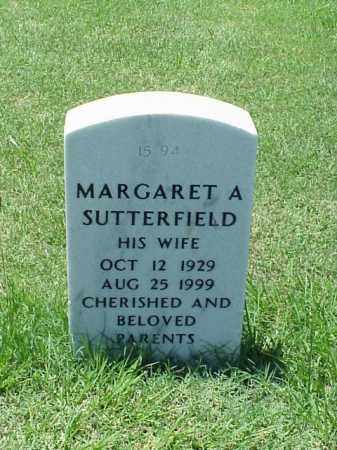 SUTTERFIELD, MARGARET A - Pulaski County, Arkansas | MARGARET A SUTTERFIELD - Arkansas Gravestone Photos