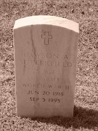 SUTTERFIELD (VETERAN WWII), LAWSON A - Pulaski County, Arkansas | LAWSON A SUTTERFIELD (VETERAN WWII) - Arkansas Gravestone Photos