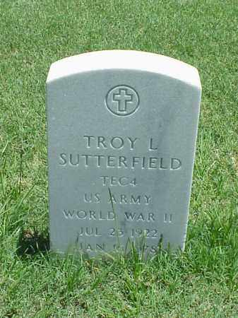 SUTTERFIELD (VETERAN WWII), TROY L - Pulaski County, Arkansas | TROY L SUTTERFIELD (VETERAN WWII) - Arkansas Gravestone Photos