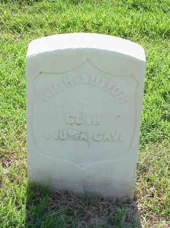 SUTTON (VETERAN UNION), WILLIAM H - Pulaski County, Arkansas | WILLIAM H SUTTON (VETERAN UNION) - Arkansas Gravestone Photos