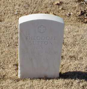 SUTTON (VETERAN WWI), THEODORE - Pulaski County, Arkansas | THEODORE SUTTON (VETERAN WWI) - Arkansas Gravestone Photos