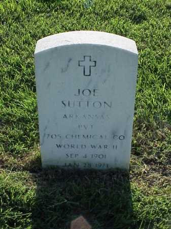 SUTTON (VETERAN WWII), JOE - Pulaski County, Arkansas | JOE SUTTON (VETERAN WWII) - Arkansas Gravestone Photos
