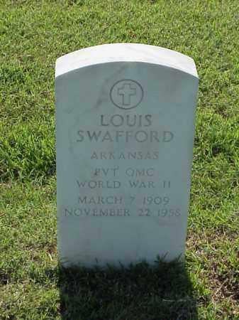 SWAFFORD (VETERAN WWII), LOUIS - Pulaski County, Arkansas | LOUIS SWAFFORD (VETERAN WWII) - Arkansas Gravestone Photos